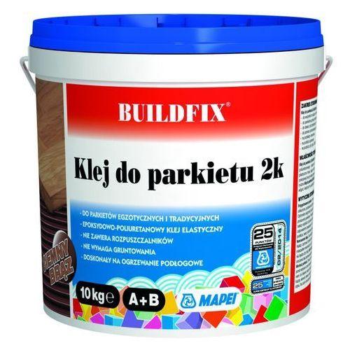 Klej dwuskładnikowy do parkietu 2k ciemny brązowy 10 kg marki Buildfix