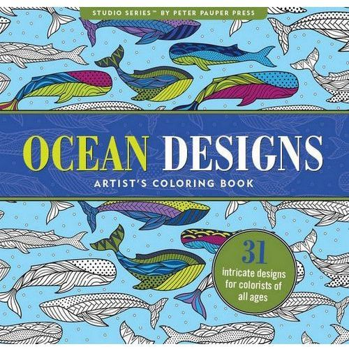 Kolorowanka Artystyczna Ocean (9781441319364)