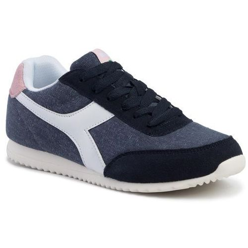 Sneakersy - jog light c 101.171578.01 c3840 blue nights/pink pale lil marki Diadora