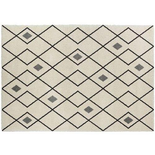 Vente-unique Dywan w stylu berberyjskim durango — polipropylen — 160 × 230 cm — ecru