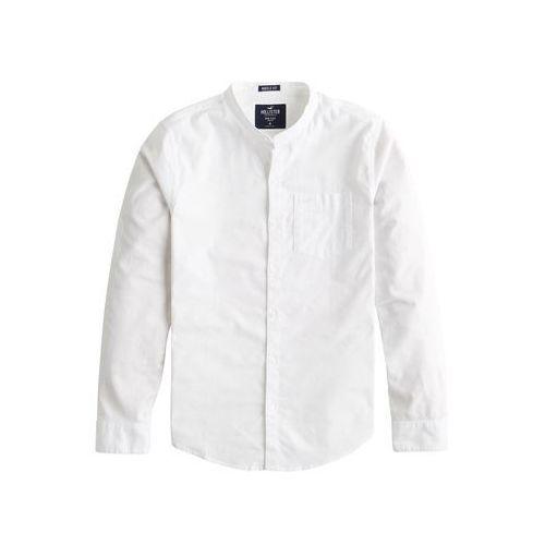HOLLISTER Koszula biznesowa 'BTS19-LS MFIT BAND OX SLUB RO A2 3CC' biały, kolor biały