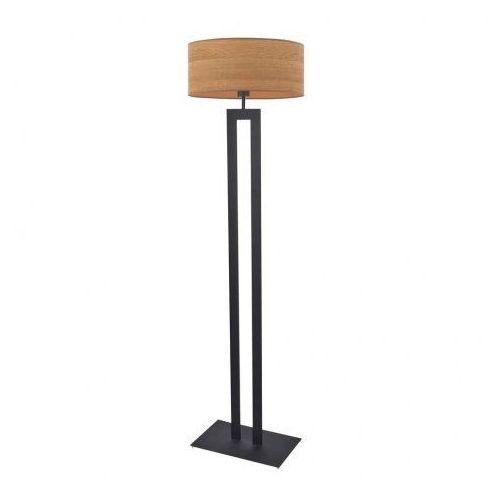 Czarna lampa stojąca do salonu kalifornia eco marki Lysne