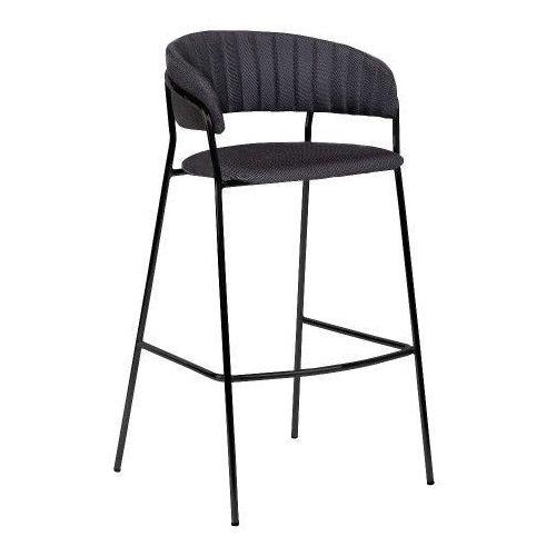 Krzesło barowe Form, czarny, komplet 2 szt - Bloomingville, 82040773