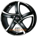 Alutec SHARK RACING BLACK FRONTPOLISHED 7.00x16 5x108 ET48 DOT