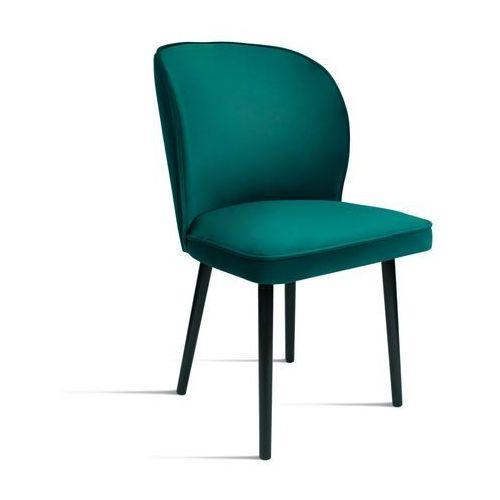 B&d Krzesło rino zielony/ noga czarna/ so260