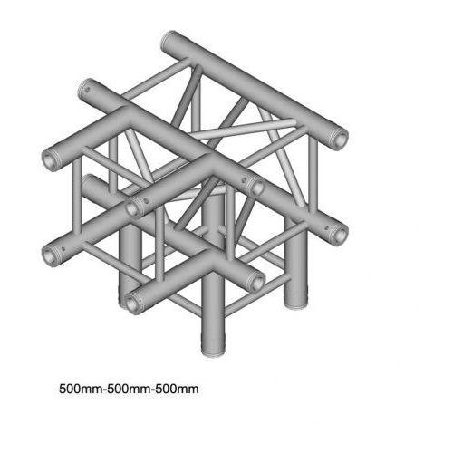 dt 34/2-t40-td element konstrukcji aluminiowej narożnik 4-drożny 90st. marki Duratruss