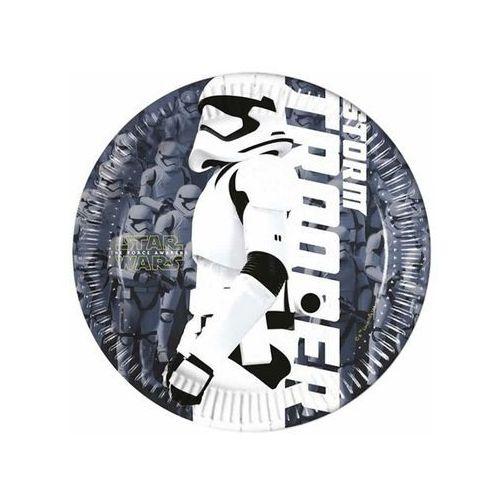 Talerzyki papierowe Star Wars The Force Awaknes 20 cm, 8 szt., kup u jednego z partnerów