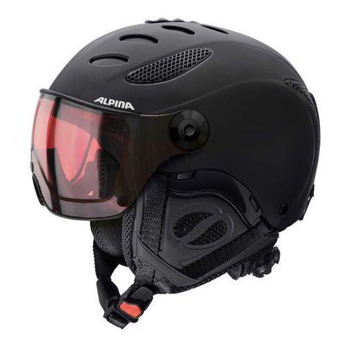 jump jv hm black matt- kask narciarski r. 52-54 cm marki Alpina