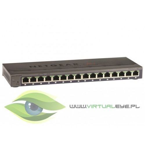 Netgear Switch Unmanaged Plus 16xGE - GS116E (0606449101492)