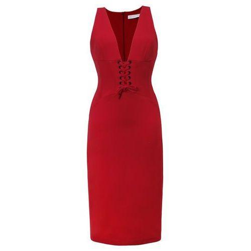 Sukienka Lexy w kolorze czerwonym
