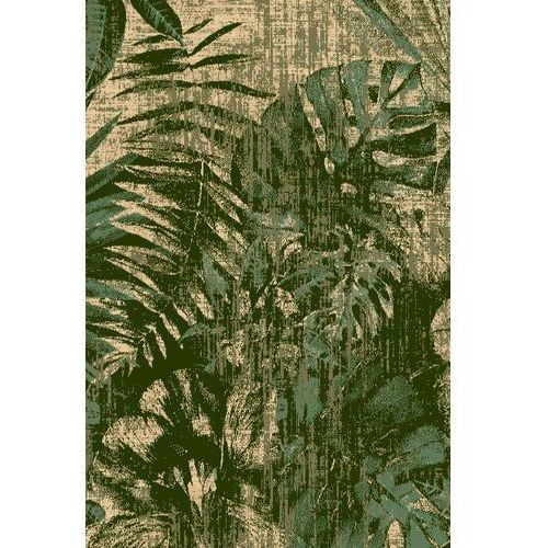 Dywan Agnella Basic Jungle Ciemny Zielony 80x150