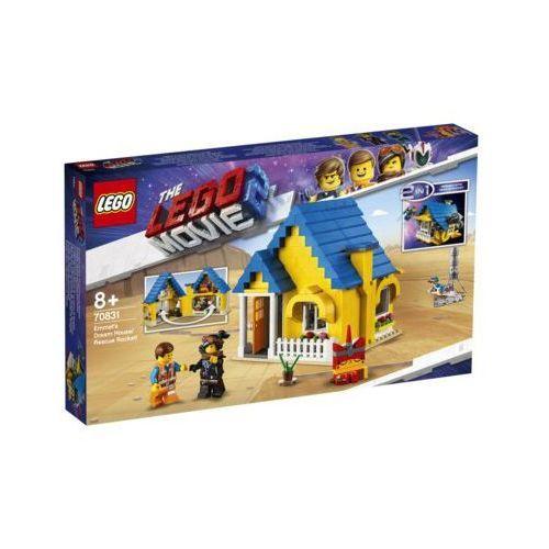Lego THE MOVIE Dom emmeta/rakieta ratunkowa emmet's dream house/rescue rocket 2 70831