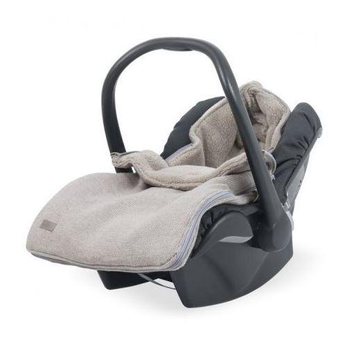 Śpiworek zimowy do fotelika - natural knit beż - marki Jollein