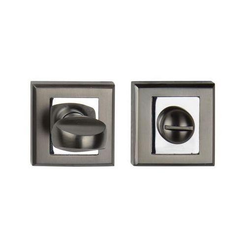 Schaffner Szyld drzwiowy clara wc black-mat / chrom