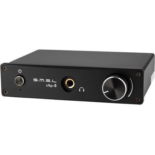 Wzmacniacz słuchawkowy SMSL sAp-8 Czarny Darmowy odbiór w 21 miastach!