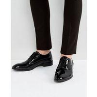 holmes patent oxford shoes in black - black marki Base london
