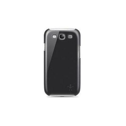 Obudowa Belkin Snap Shield Micra - czarna - Samsung Galaxy S3 i9300
