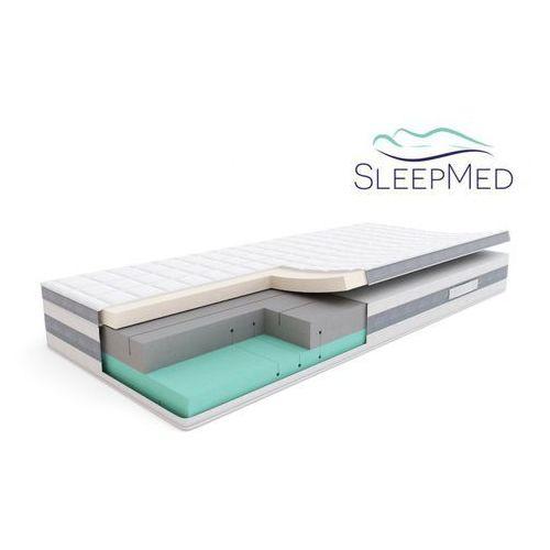 comfort - materac termoelastyczny, piankowy, rozmiar - 160x200 wyprzedaż, wysyłka gratis marki Sleepmed