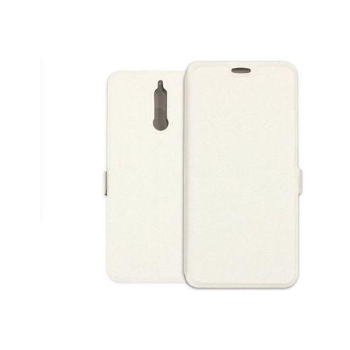 Huawei Mate 10 Lite - etui na telefon Wallet Book - biały, kolor biały