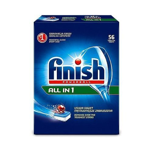 Tabletki do zmywarki Finish Powerball All in 1 regular 52szt.