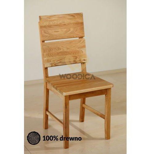 Krzesło dębowe 03d marki Woodica