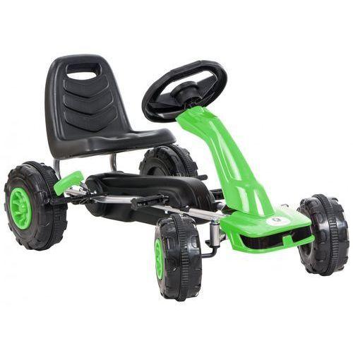 Gokart na pedały KIDZ MOTION Jeździk dla dzieci 3-8 lat Zielony + DARMOWY TRANSPORT!