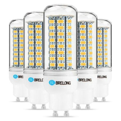 5 x BRELONG GU10 12W 1200Lm SMD 5730 LED Corn Light Lamp
