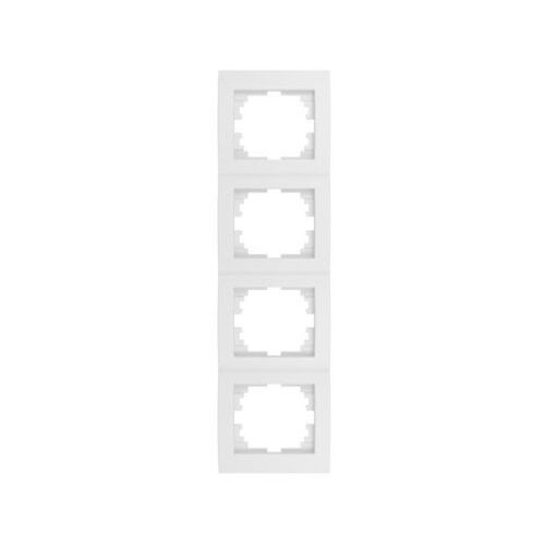 KANLUX LOGI 02-1540-002 biały Ramka poczwórna pionowa 25124 (5905339251244)