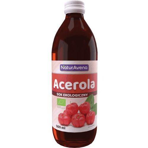 500ml sok z acerola bio (data ważności 30.06.2017r.) marki Bioavena