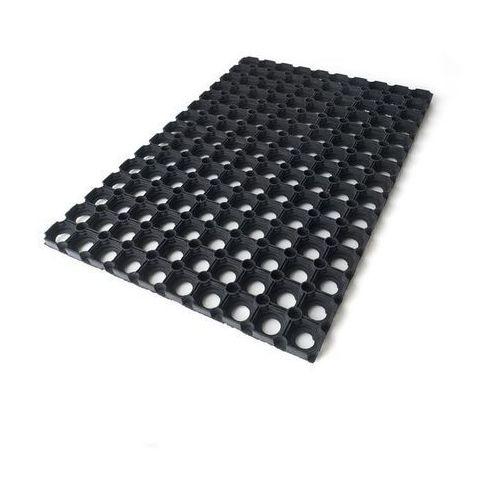 Wycieraczka gumowa Colours 40 x 60 cm czarna