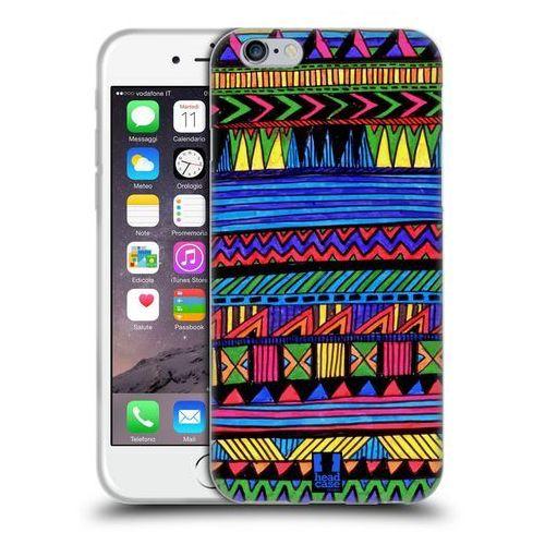 Head case Etui silikonowe na telefon - aztec doodle assorted