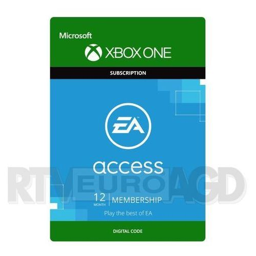 Microsoft Subskrypcja ea access (12 mc-y) [kod aktywacyjny] (0000006200574)