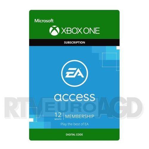 Subskrypcja ea access (12 mc-y) [kod aktywacyjny] marki Microsoft