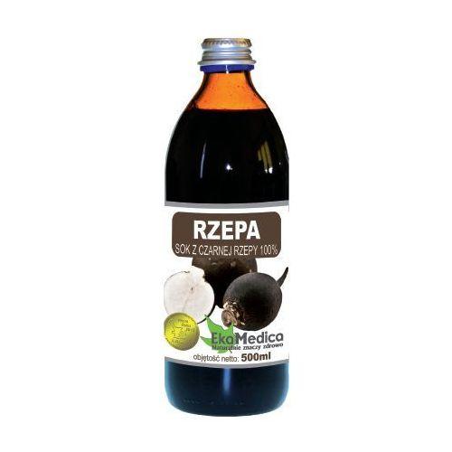 Eka Medica Czarna Rzepa 100% sok z czarnej rzepy 500ml, EKA MEDICA
