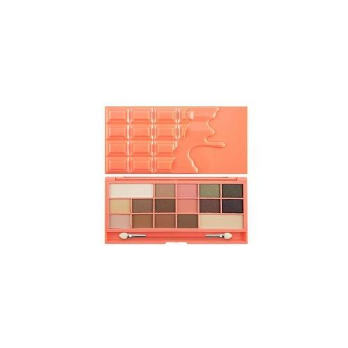 Makeup Revolution I Heart Makeup Chocolate Palette, Chocolate and Peaches, Chocolate Light