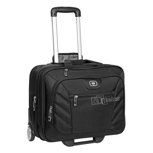 roller rbc pilotka / walizka kabinowa / torba na laptop 17'' / czarna - black marki Ogio