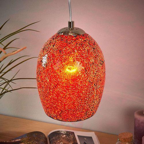 Searchlight Ciepła lampa wisząca crackle