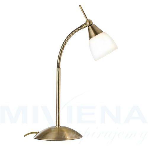 Exec lampa stolowa 1 patyna mleczne szkło
