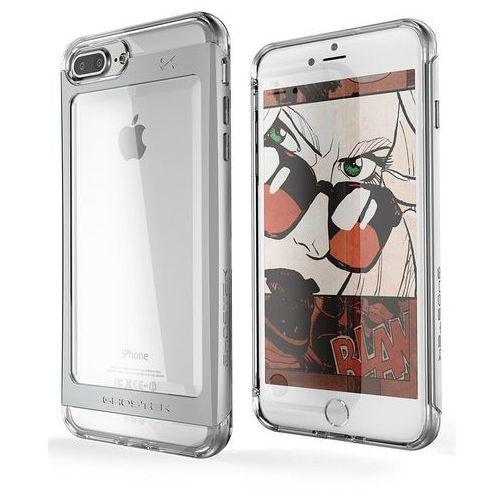 Etui Ghostek Cloak 2 Apple iPhone 8 Plus/7 Plus Silver + Szkło