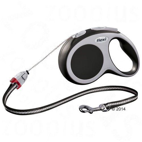 Smycz dla psa  vario s antracytowa, 8 m - antracytowy pojemnik multibox marki Flexi