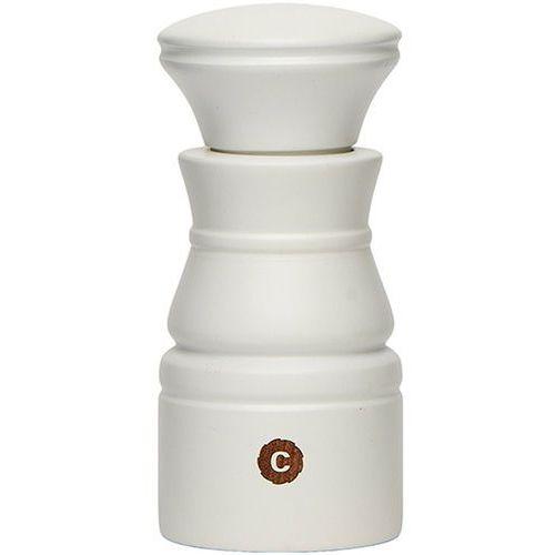 Uniwersalny ceramiczny młynek do soli, pieprzu i przypraw Rome CrushGrind biały (070040-0010), 070040-0010