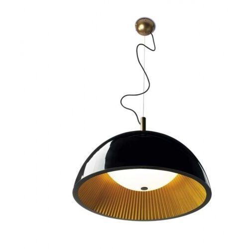 Leds-C4 Umbrella Lampa wisząca Czarny, Złoty, 3-punktowe - Nowoczesny - Obszar wewnętrzny - Umbrella - Czas dostawy: od 2-3 tygodni (8435111059166)