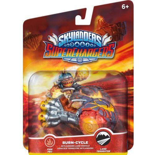 Skylanders: SuperChargers - pojazd Burn Cycle. Najniższe ceny, najlepsze promocje w sklepach, opinie.