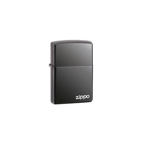 Zapalniczka Zippo Black Ice z logo Zippo + DARMOWY ZWROT (Z150ZL)