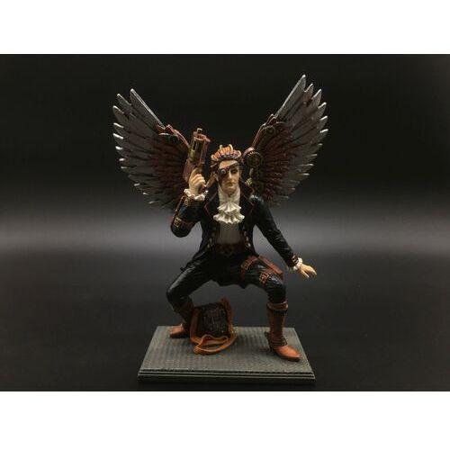 Steampunk skrzydlaty mężczyzna z pistoletem (wu76410aa) marki Veronese