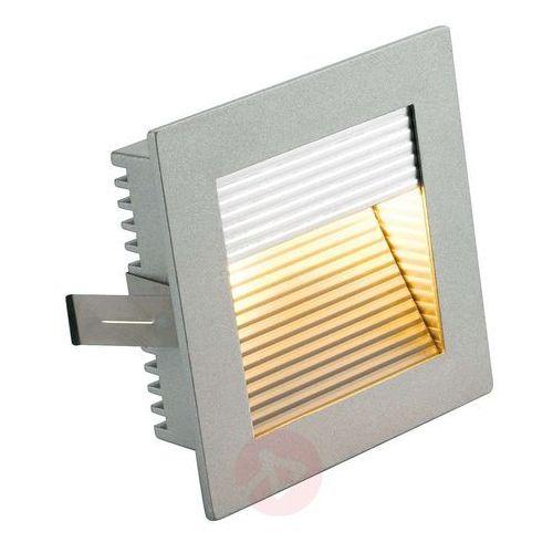 Uchwyt wtykowy na lampę, SLV 112772, G4, 90 x 90 x 31 mm, aluminiowy, srebrno-szary (4024163086165)