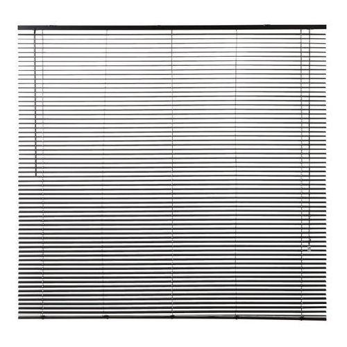 Żaluzja aluminiowa Colours Studio 160 x 180 cm czarna (3663602989349)