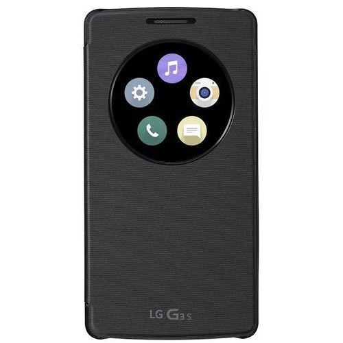 Lg Etui ccf-490g quickcircle do lg g3s czarny (8806084962188)