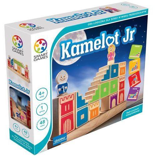 Smart Games Kamelot Jr: Gra logiczna dla dzieci w wieku przedszkolnym (5900221002904)