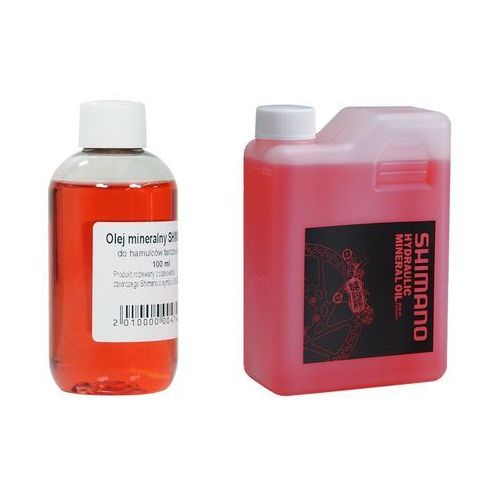 OLEJ_SHIMANO_100 Olej mineralny Shimano do hamulców hydraulicznych 100 ml (2010000004746)